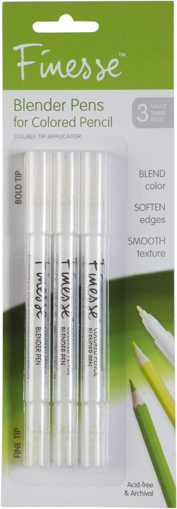 Finesse Blender Pen For Colored Pencils