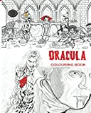 Image of Dracula Colouring Book: Stress Free Adult Colouring Book and Mandalas of Count Dracula, Bats, Halloween, Horror Costumes, Skeleton Eyeballs, Ghosts, ... boys, girls: to use glow in the dark colours