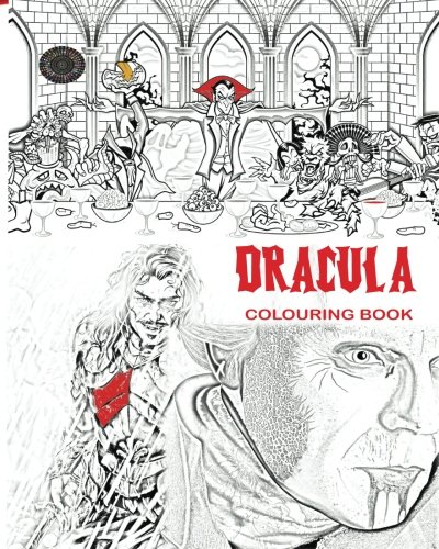 Design Costume Sketches Halloween (Dracula Colouring Book: Stress Free Adult Colouring Book and Mandalas of Count Dracula, Bats, Halloween, Horror Costumes, Skeleton Eyeballs, Ghosts, ... boys, girls: to use glow in the dark)