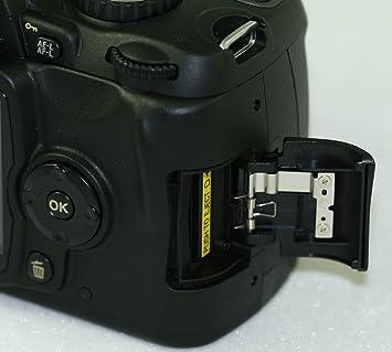 Amazon.com: Cámara digital Nikon – Tapa para Tarjeta de ...