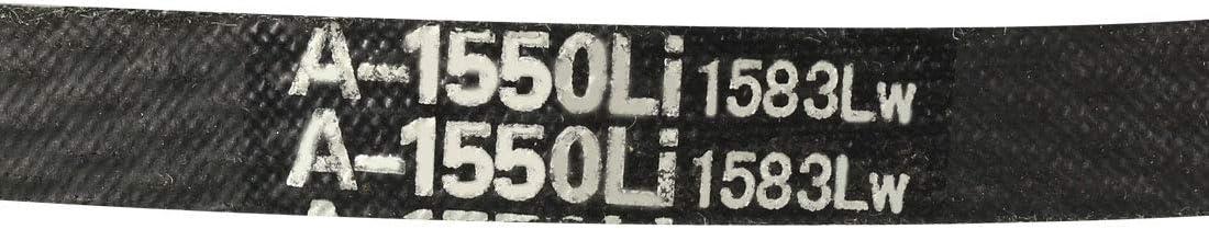 Sourcing map A-1550//A61 Courroie de transmission en V pour courroie de transmission industrielle en caoutchouc 61 cm