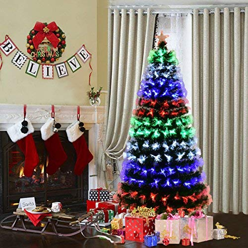 Fibre Optic Tree With Led Lights in US - 2