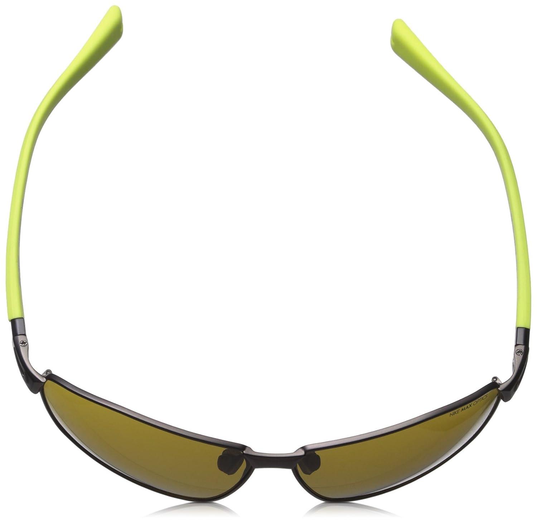 90da8794fad9 Amazon.com: Nike Stride Sunglasses, Matte Gunmetal/Voltage, Outdoor Lens:  Sports & Outdoors