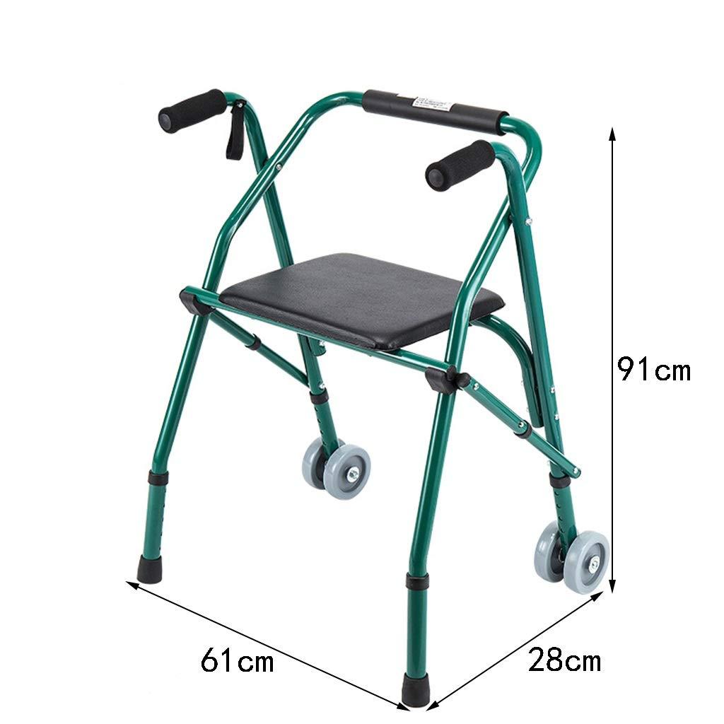 Cheng-Caminante Silla Plegable de Altura Ajustable con ...