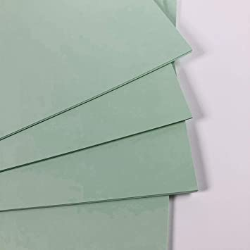 Amazon.com: Verde Tarjeta SRA3 10 hojas, 160 g/m2: Toys & Games