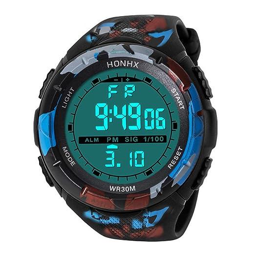Relojes hombre clásicos,KanLin1986 relojes hombre deportivos relojes digitales relojes mecánicos de hombre reloj fitness