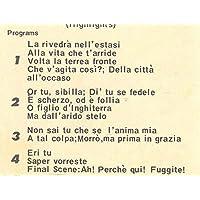 RCA Italiana Opera Orchestra & Chorus: Highlights from Verdi's Un Ballo In Maschera 8 Track Tape