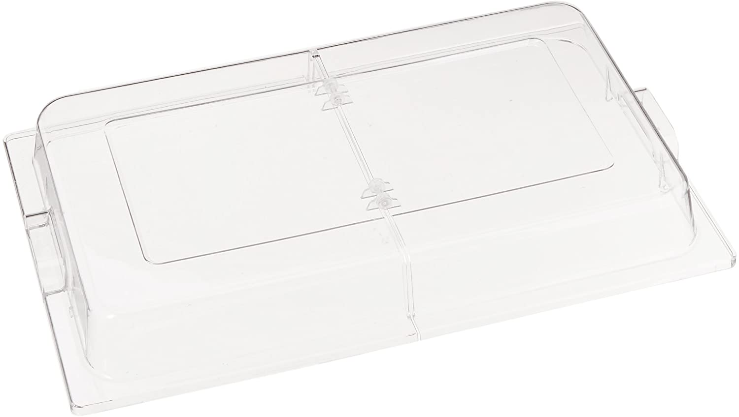 Winco Polycarbonate Dome Hinged Cover, Full Size
