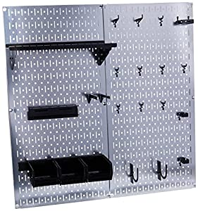 Amazon.com: Wall Control 30-WGL-200GVB Galvanized Steel Pegboard Tool Organizer: Home Improvement
