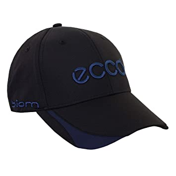 ECCO Unisex Golf Cap - Black Blue - One Size  Amazon.co.uk  Sports ... 631d037ed6fa