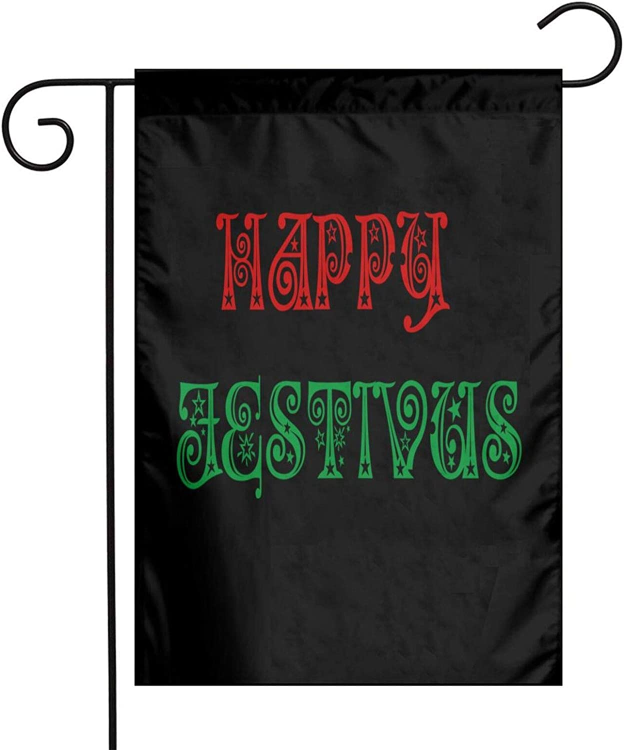Opplsh Hdrejn Happy Festivus Garden Flag, Yard Flag to Bright Up Your Garden 12