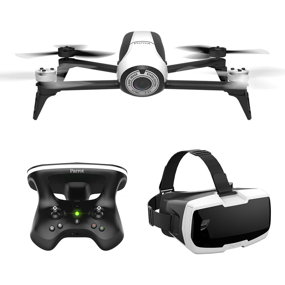 Parrot Bebop 2 FPV - Up to 25 minutes of flight time, FPV goggles, compact drone by Parrot