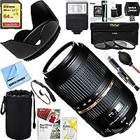 Tamron (AFA005NII-700) SP AF70-300mm Di VC USD Lens For Nikon AF + 64GB Ultimate Filter & Flash Photography Bundle