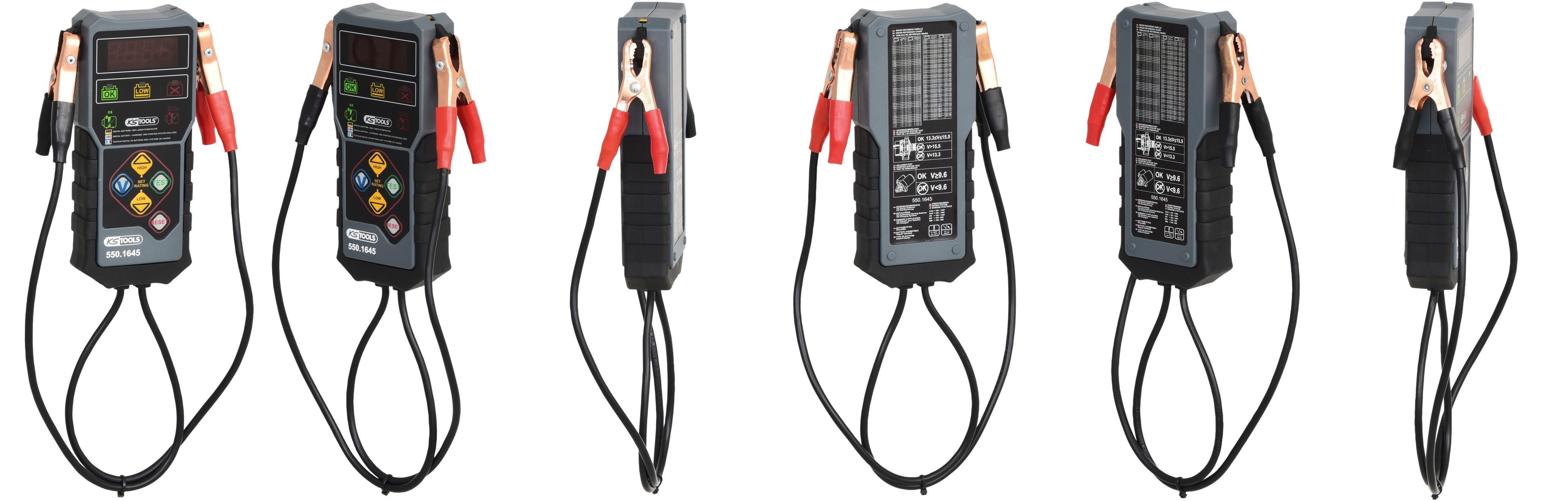 Ks Tools 550 1645 12v Digital Batterietester Gewerbe Industrie Wissenschaft