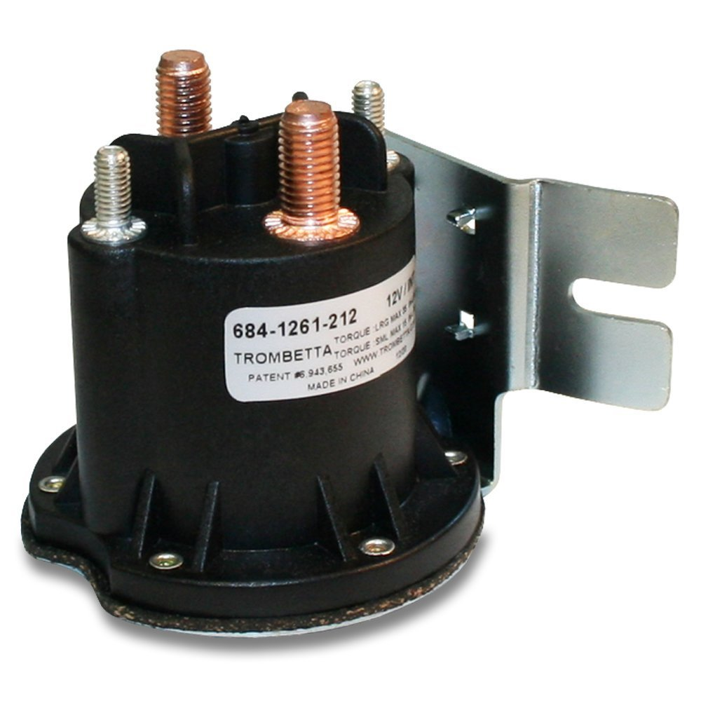 Amazon.com: Trombetta 684-1261-212 12 Volt PowerSeal DC Contactor:  Industrial & Scientific