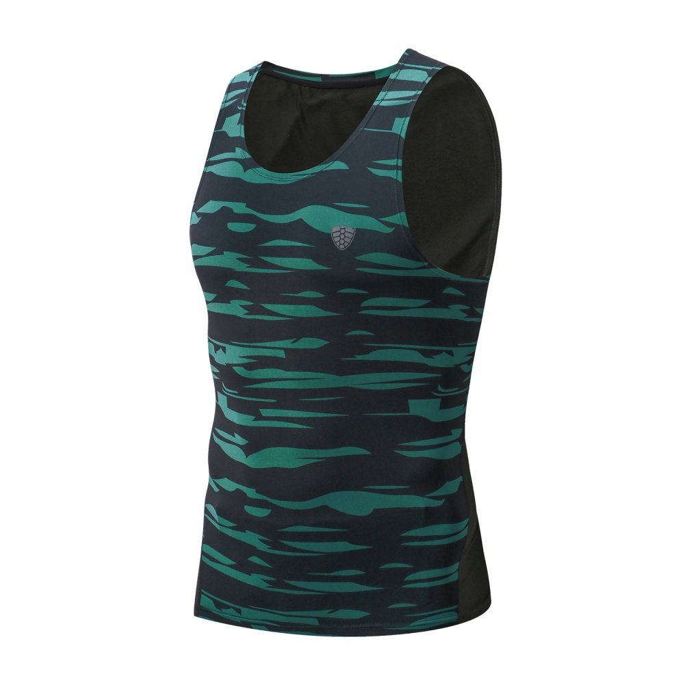 Mens Cool Dry Compression Baselayer Sleeveless Tank Tops Muscle Undershirts Running T-Shirt