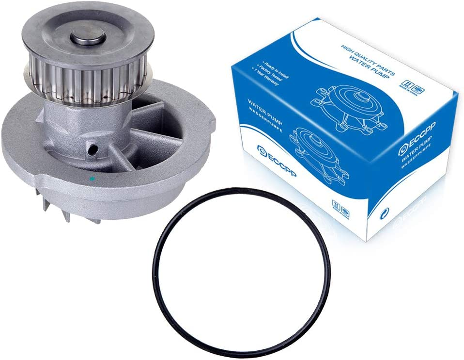 ECCPP Water Pump with Gasket fits for 1993-1993 Asuna GT SE Daewoo Lanos Pontiac LeMans Optima 1.5L 1.6L 96352648