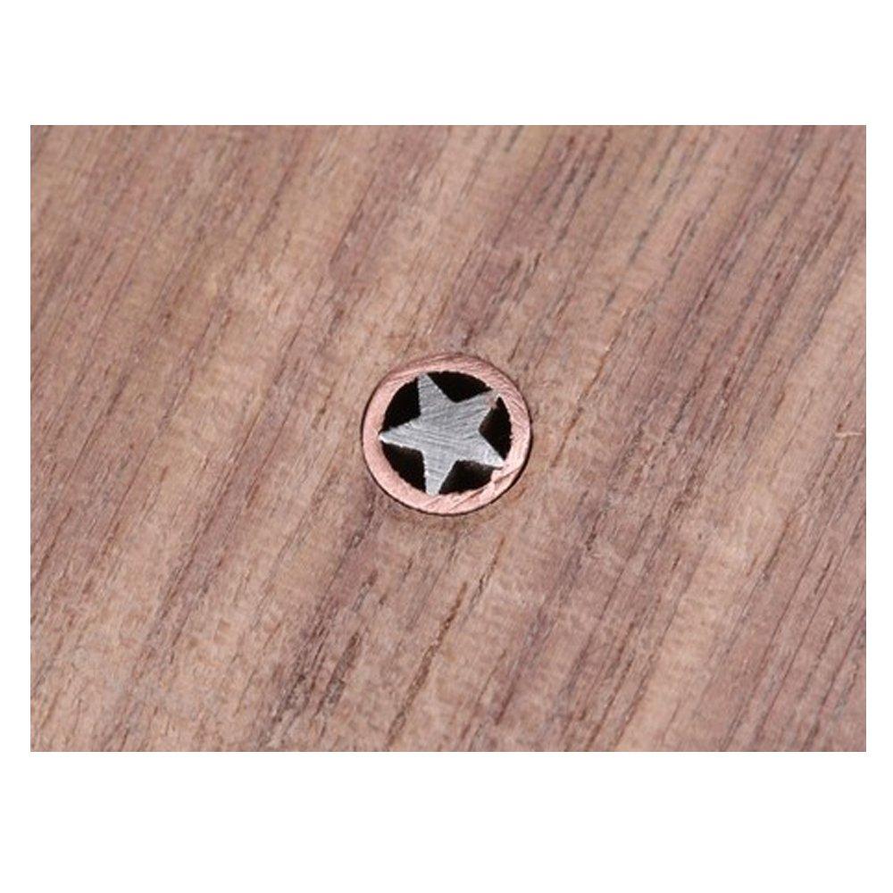 Mosaic pins 5mm dia. Knife DIY parts handle rivets accessories 3