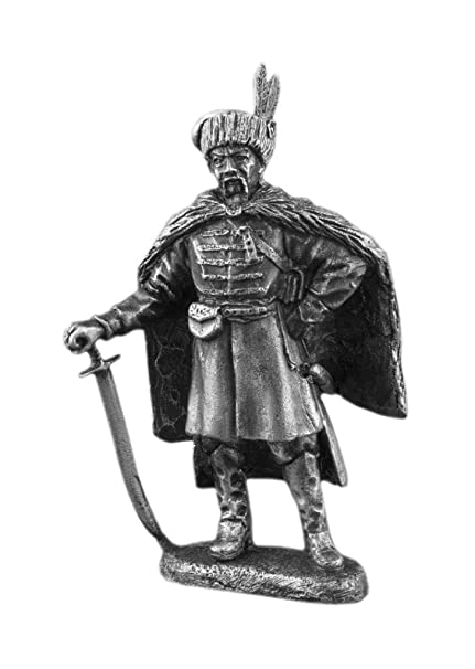 Amazon.com: Medieval Ukrainian Cossack Warrior Antique ...