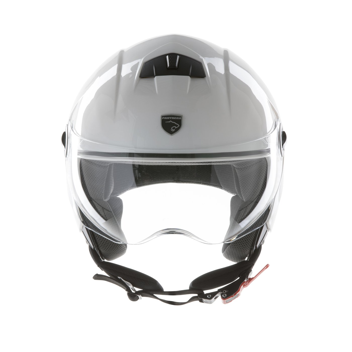 PANTHERA casque moto demi jet City noir mat taille XS Rider Valley FS715W-MBKXS