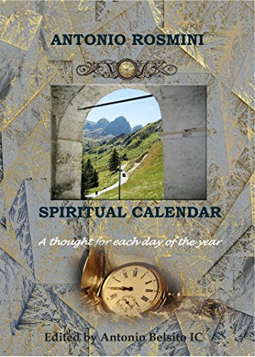 SPIRITUAL CALENDAR: THE WRITINGS OF BLESSED ANTONIO  ROSMINI (Catholic Blessed Trinity)