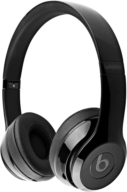 Amazon Com Beats Solo 3 Wireless On Ear Headphones Gloss Black Renewed Electronics