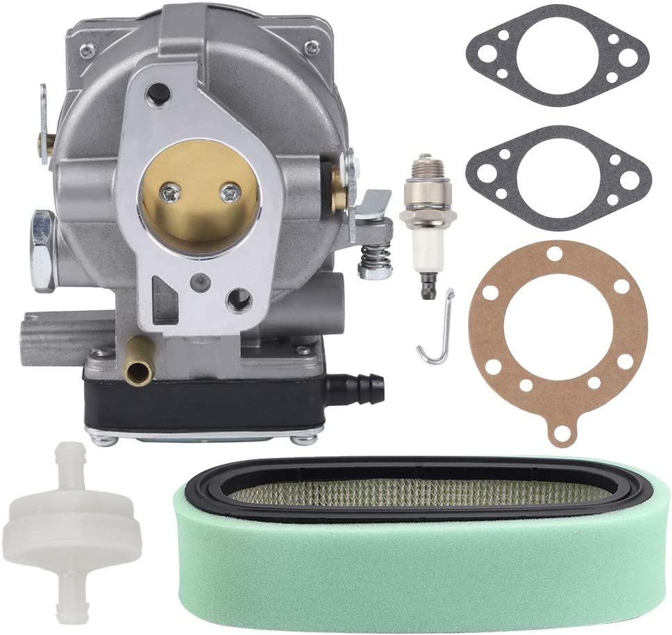 Butom 693480 Carburetor Carb for 499305 499307 393293 396634 397245 693479 694056 499306 495181 495026 491429 393297 399623 392806 393286 Craftsman LT1000 with 394019S 394019 Air Filter Tune Up Kit