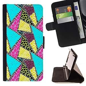 """For Sony Xperia M5 E5603 E5606 E5653,S-type Patrón trullo Animal Amarillo"""" - Dibujo PU billetera de cuero Funda Case Caso de la piel de la bolsa protectora"""