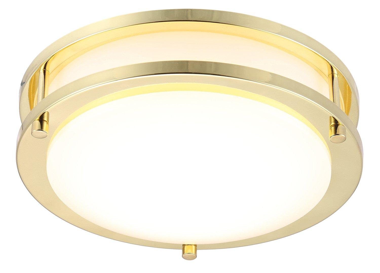 Cloudy bay led flush mount ceiling light 10 inch 17w 120w - Flush mount bathroom ceiling lights ...