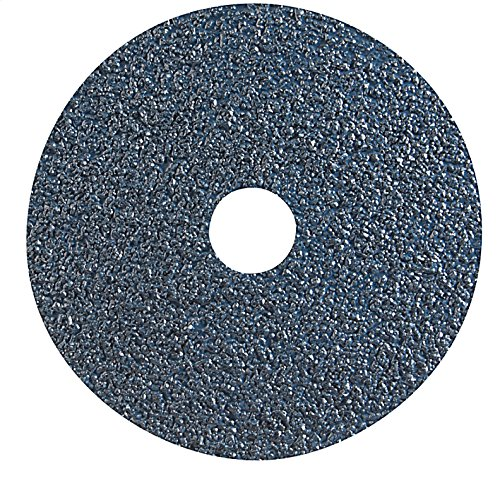 Gemtex Abrasives 20550600 Resin Fiber Disc, Paper Backing, Zirconia,