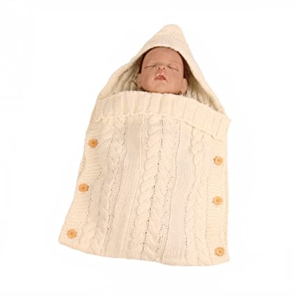 Bebé recién nacido Swaddle blanket-truedays para bebé ...