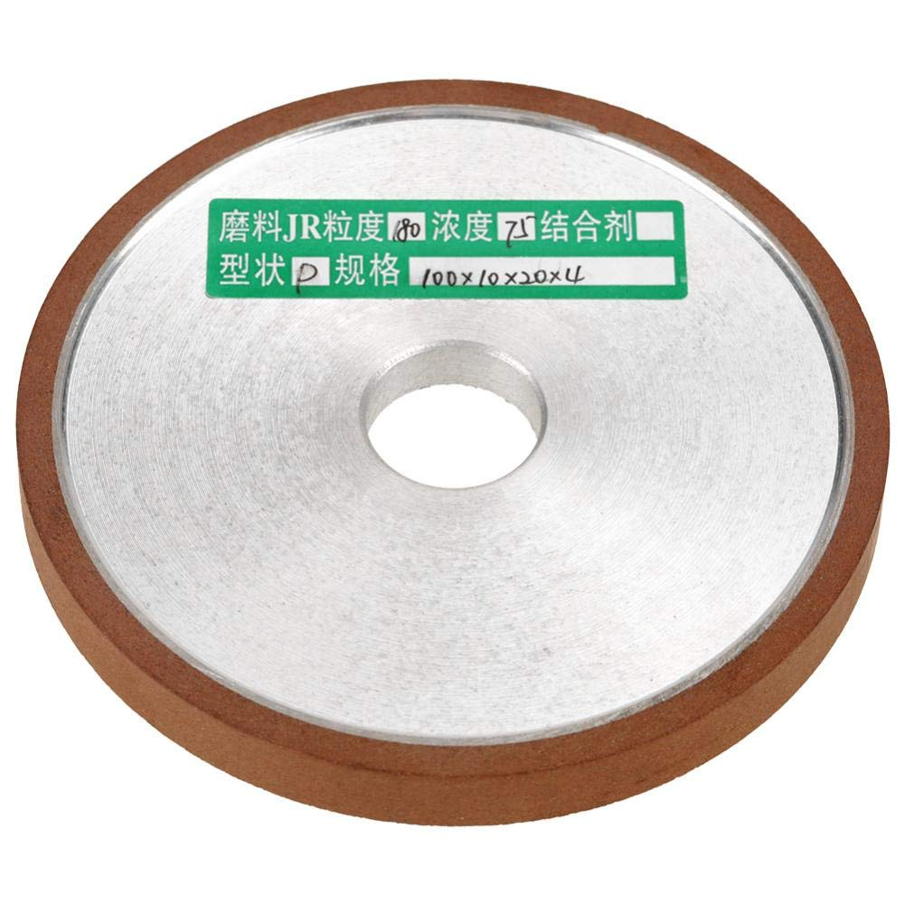 180 Grit Grinding Wheel Diamond Resin Disc for Cutter Grinder Wheel Polishing 100x20x10x4mm