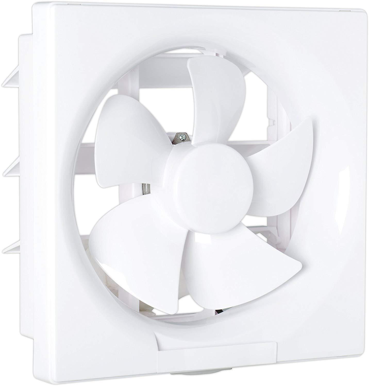 AQUA KMI® Alastar PVC Ventilation Exaust Fan for Kitchen/Bathroom (Blade Size 200 MM/8 Inches), White