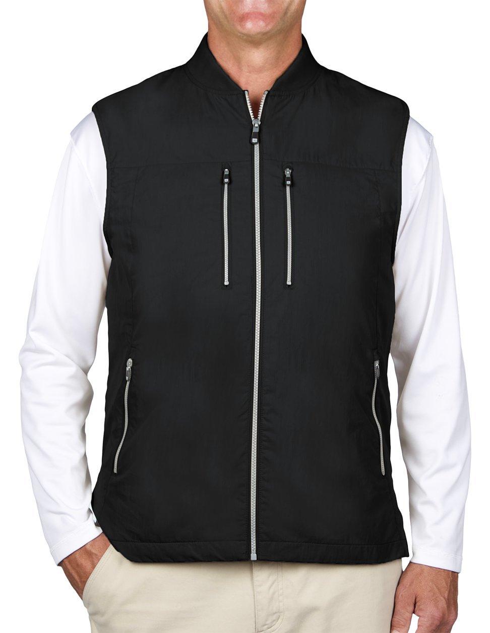 SCOTTeVEST 101 Vest-Men's - 9 Pockets, Travel Clothing, BLK, S by SCOTTeVEST