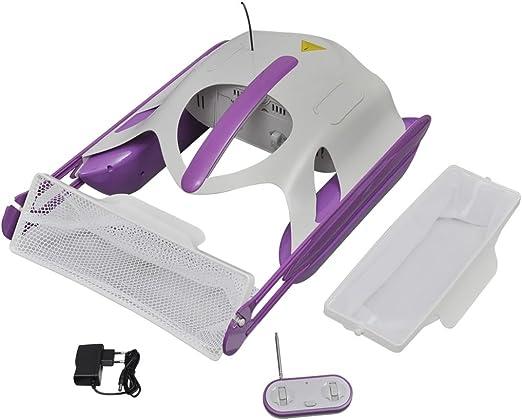 vidaXL Robot Skimmer Limpiador Piscina SPA Recogehojas Limpieza Limpiafondos: Amazon.es: Jardín