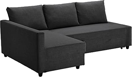 Ikea Divano Friheten.Easy Slipcover The Dark Gray Friheten Thick Cotton Sofa