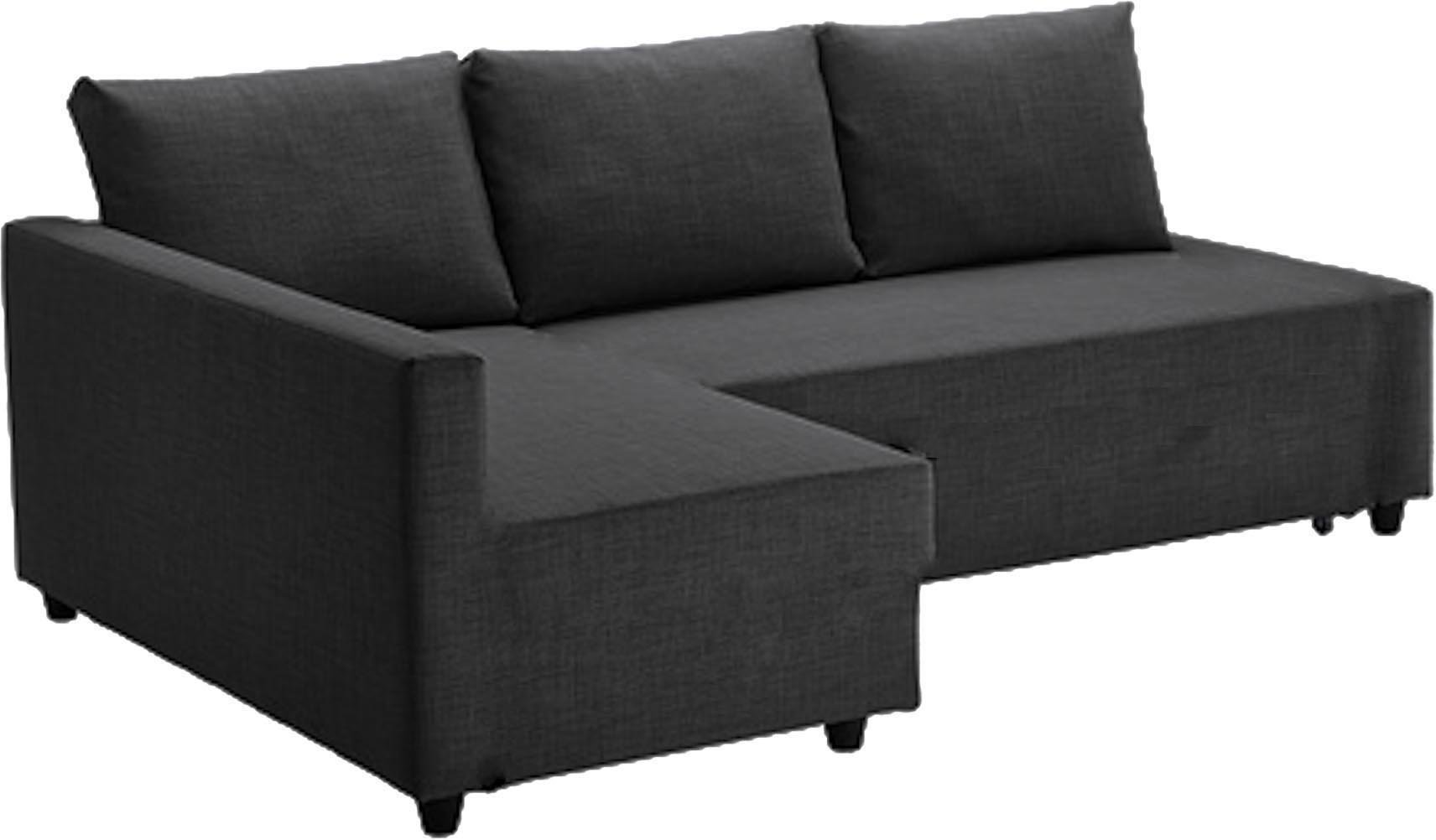The Dark Gray Friheten Thick Cotton Sofa Cover Replacement is Custom Made for Ikea Friheten Sofa Bed, Or Corner, Or Sectional Slipcover. Sofa Cover Only! (Right ARM Longer) by Easy Slipcover