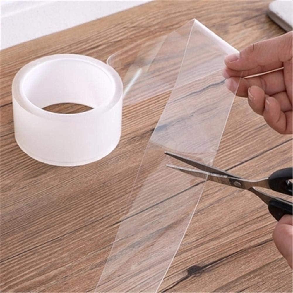 Kitchen Waterproof Acrylic Transparent Tape Sink Gap Seal Strip 2cmx3m