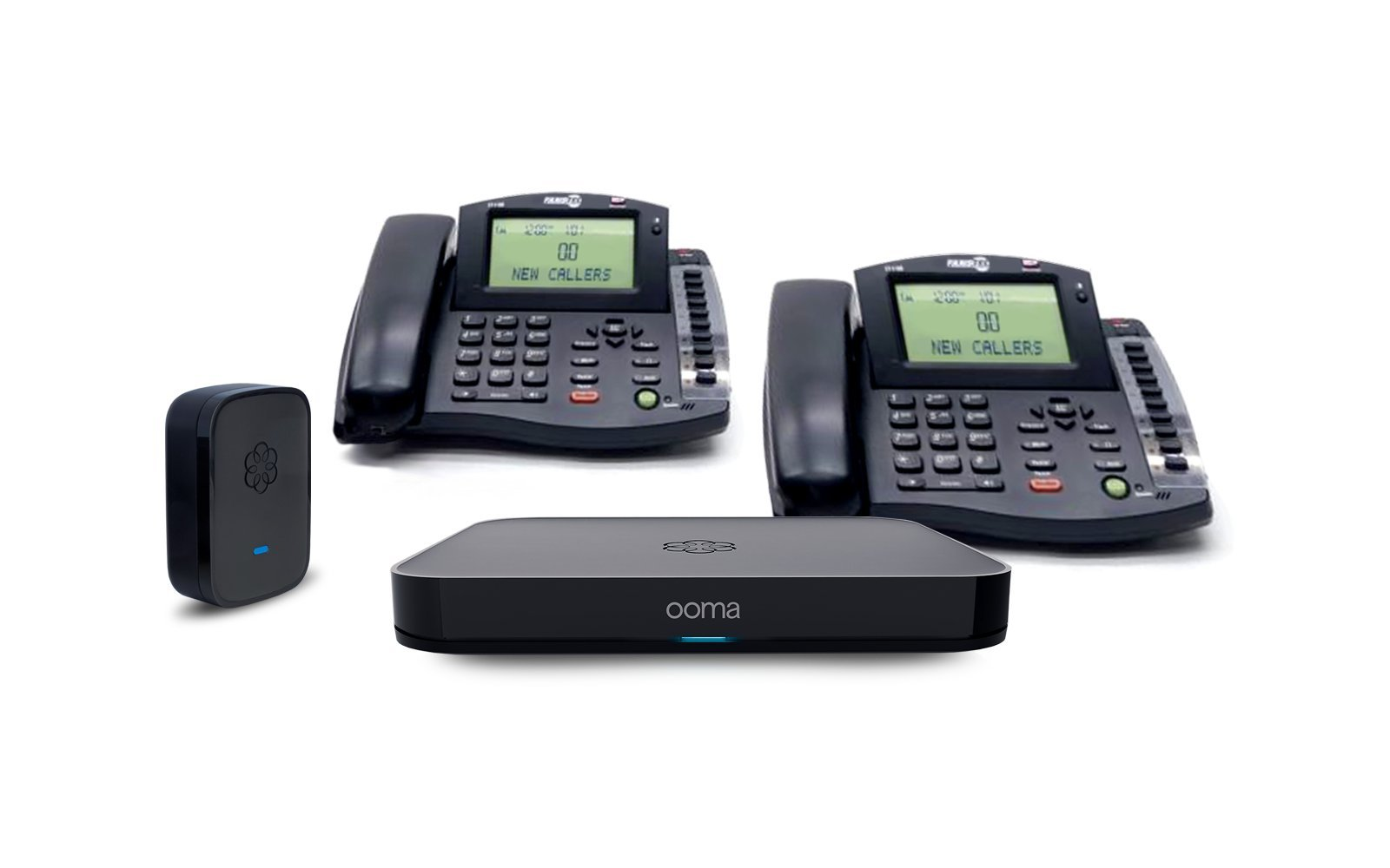 Ooma Office Small Business Phone System VoIP Phone & Device