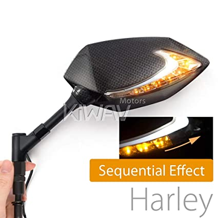 Amazon.com: Motorcycle Two-Tone LED Waterproof with Sequential ... on