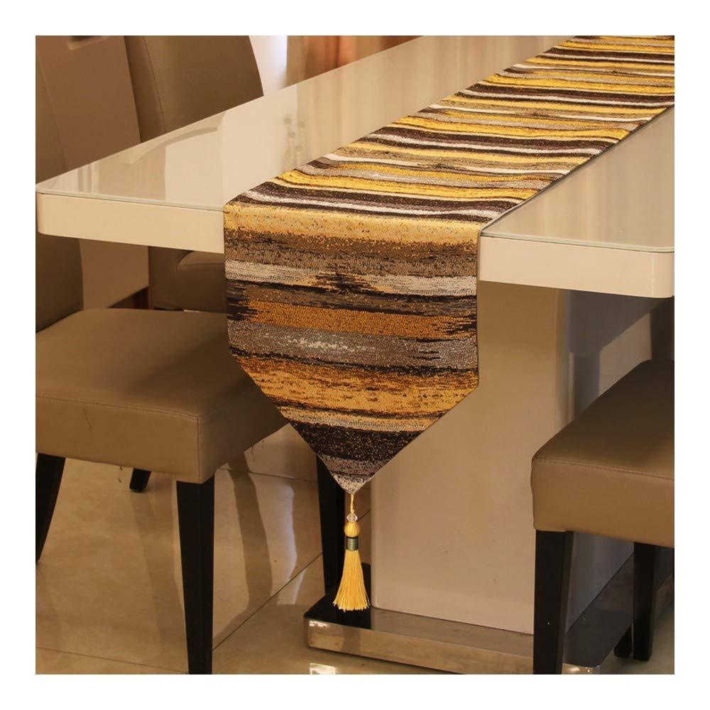 JUNYZZQ Jane Europäische Farbe Gerade Hochpräzise Tischfahne Europäischer Tisch Couchtisch Amerikanisches Betttuch Weiches Tuch