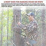 Huntury Lineman's Rope, Lineman Belt, Tree Climbing