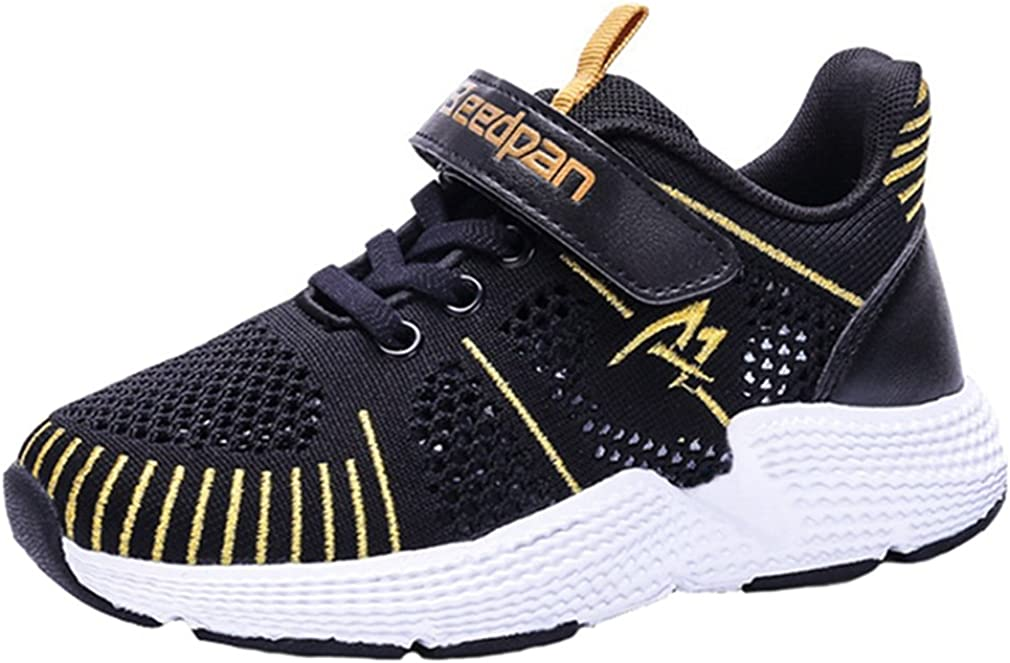 LGXH Little Boys Girls Trail Running Shoes Breathable Mesh Anti-Slip Big Kids Sports Athletic Sneakers