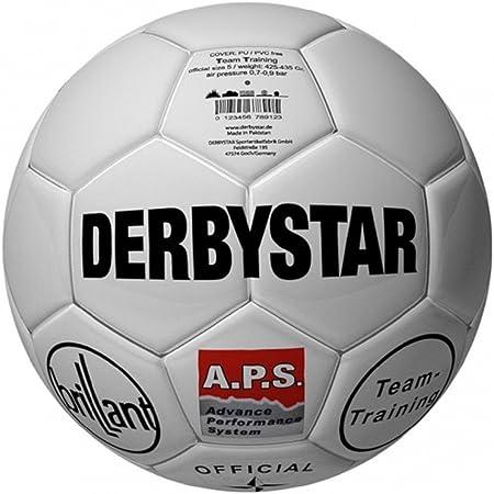 Derbystar Brillant TT Retro de Fútbol/parte Balón de entrenamiento ...