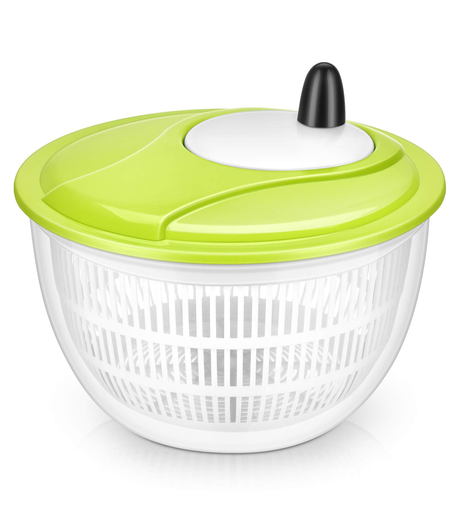 Lougnee Premium Large Salad Spinner 5 Quarts Vegetable Washer with Bowl by Lougnee