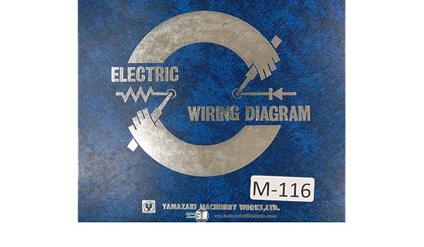 mazak yamazaki electrical wiring diagrams mazatrol cam t-4 qslant 20 manual  plastic comb – 1983