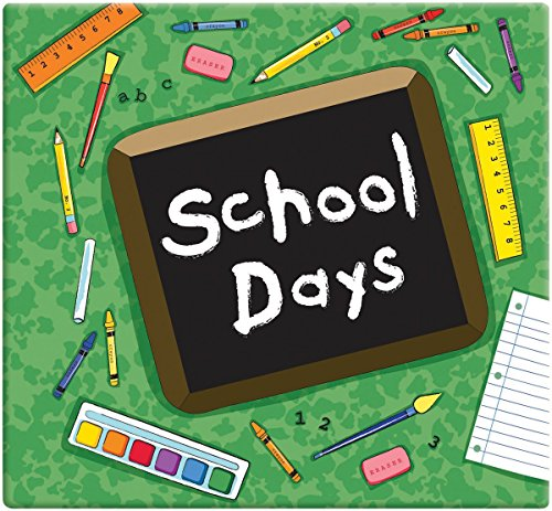 MBI 849158 School Days Album, 12 x 12, Green