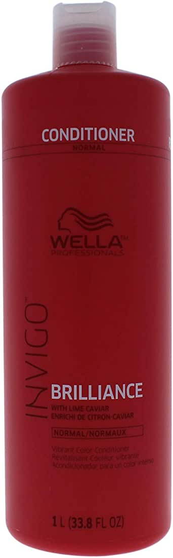 Wella Wella Invigo Brilliance Conditioner For Normal Hair for Unisex 33.8 oz Conditioner, 1 L