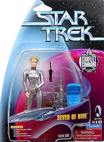 Trek Star Playmates Figure - Star Trek Starfleet Command - Seven of Nine