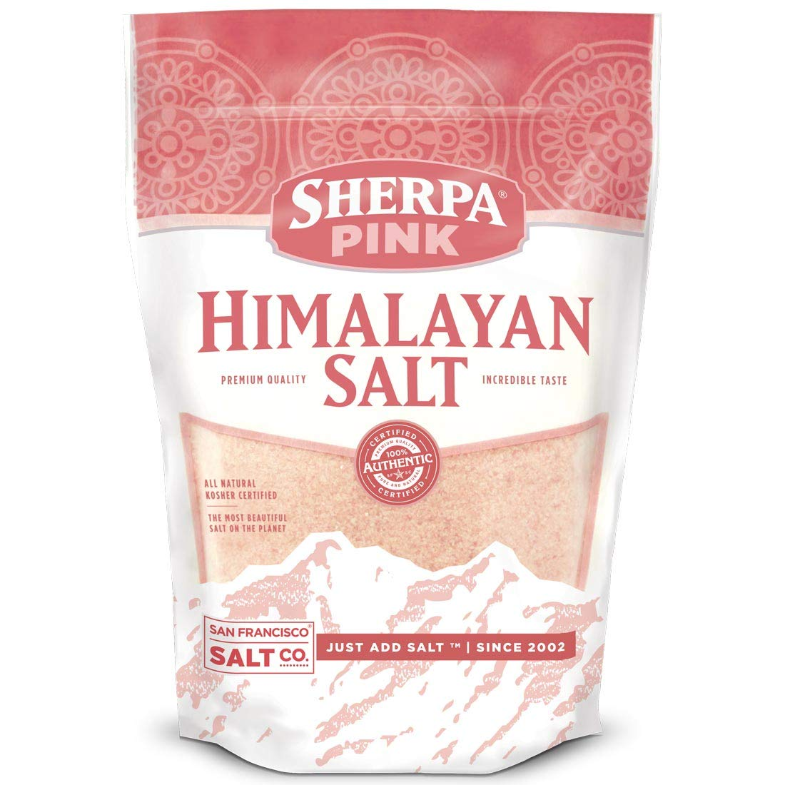 Sherpa Pink Gourmet Himalayan Salt, 2 lbs. Fine Grain. Incredible Taste. Rich in Nutrients and Minerals To Improve Your Health. Add To Your Cart Today. by Sherpa Pink (Image #6)